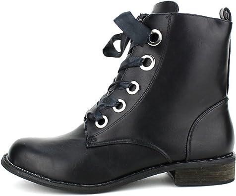Bottine ROOTS ROCK Black, Magnifique bottine style gavroche