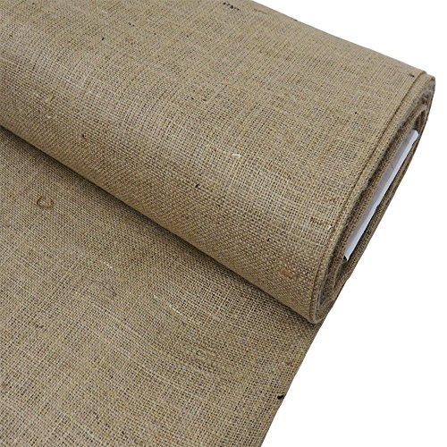 "Burlap Fabric, 38-40"" Wide, Over 100 Yards In Stock 10 Yard Bolt– 100% Jute – (Fabric Bolts)"