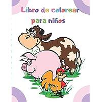 Libro de colorear para niños: Dibujos para colorear