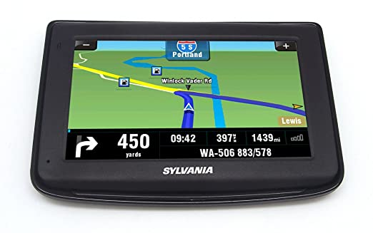 Amazoncom Sylvania Inch GPS Navigation System Cell Phones - Gps amazon com