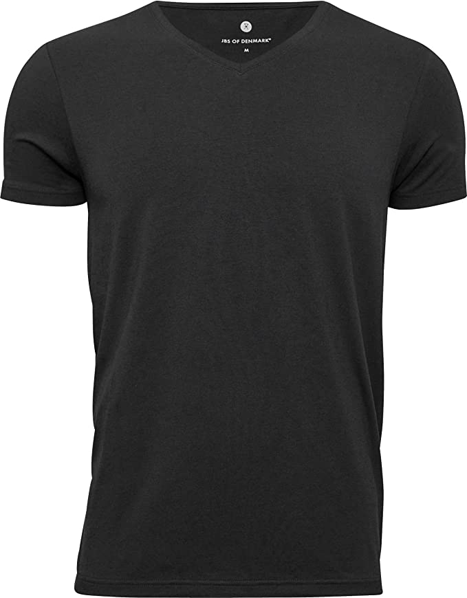 Camiseta con Cuello en V de bambú