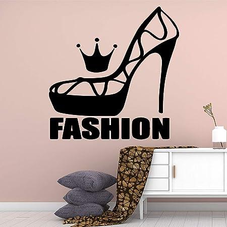 Ajcwhml Estilo de Dibujos Animados Zapatos de Moda Pegatinas de ...