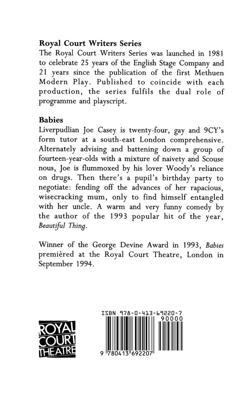 Babies (Modern Plays): Amazon co uk: Jonathan Harvey