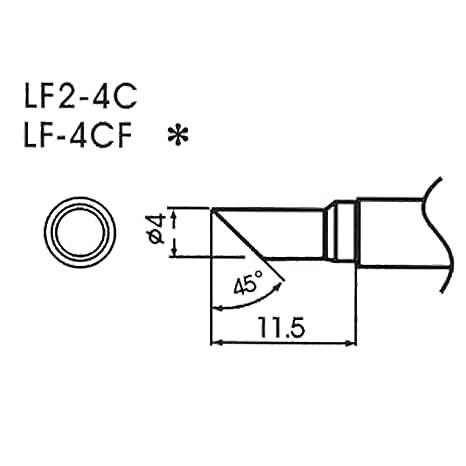 AOYUE WQ LF-2-4C Puntas soldadura sin plomo 4,0 mm 45Â