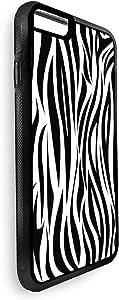 ديكالاك غطاء حماية خلفي لجهاز ايفون 8 بلس بتصميم رسومات ابداعية  , متعدد الالوان