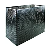 Artistic Urban Collection Punched Metal Desktop File, Black (ART20010)