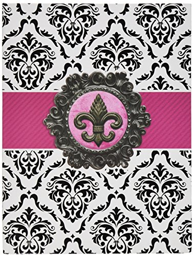 Damask Magnet (Paper House Productions JL-0001E Fleur De Lis Damask Journal)
