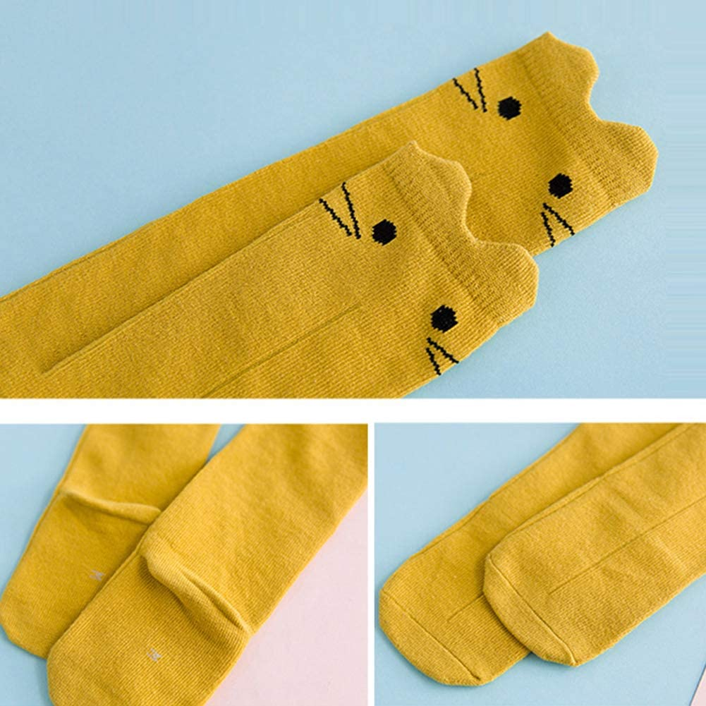 Cute Cartoon Rabbit Cotton Toddler Elastic Kid Socks Dress Decor bjlongyi