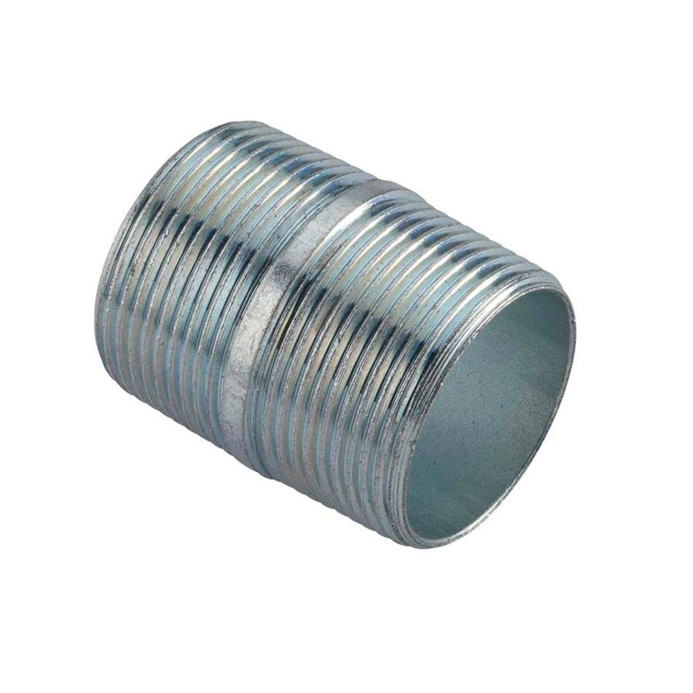 Conduit Nipple (Galvanized Steel) for Rigid Conduit and Intermediate Metallic Conduit (IMC) (''close'' (1.125 in. long), 3/4 in.)