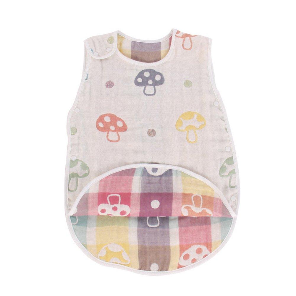 Fairy Baby Baby Summer Sleeping Bag Cotton Wearable Blanket for Boys Girls Approx. 0.5 Tog, Mushroom, 12-24 Months Rainbow Trade Co Ltd UK-Q099-05L