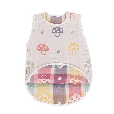 Saco de dormir de algodón para bebé, para verano, manta para niños y niñas