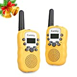 Amazon Price History for:Camkiy Mini Walkie Talkie Boys Toy 3-5KM Range 22-Channel FRS/GMRS UHF 2 Way Radios Walkie-Talkie for Kids Yellow