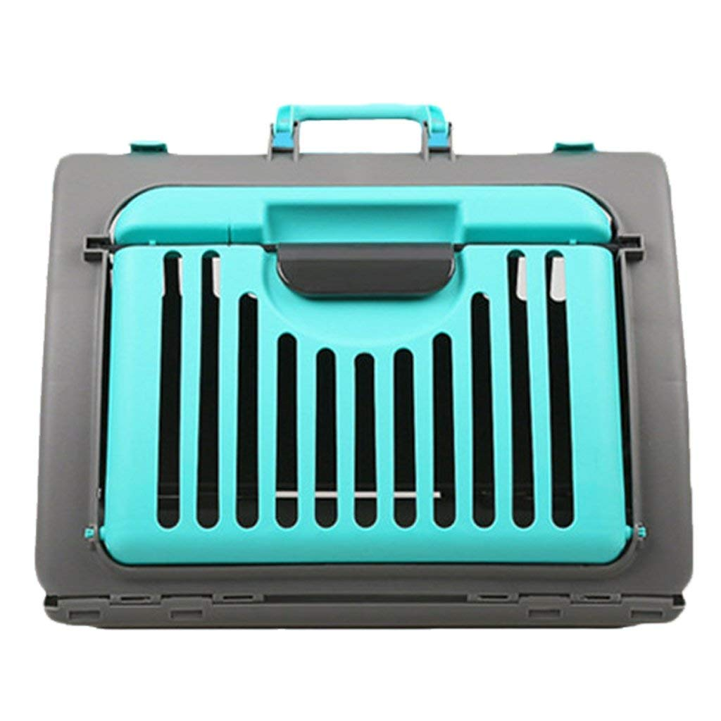 bluee KYCD Cat Cages, Coming Out, Pets, Dog Handles, Takeout, Dog Cage, Teddy Small Dogs, Cats, Carrying Cage, Pet Supplies (color   bluee)