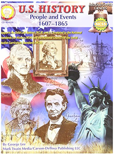 Us History People and Events Book