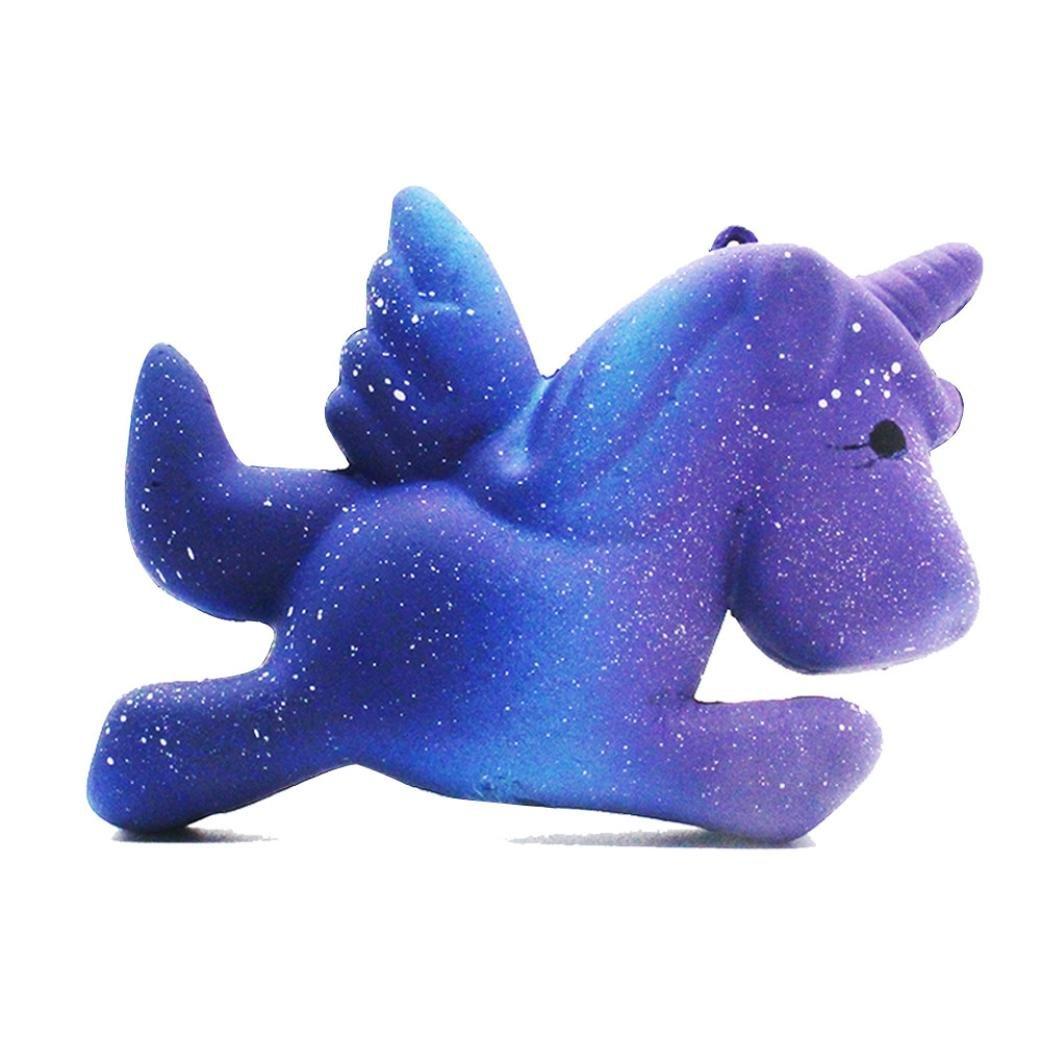 vicgrey 2018 La più recente serie di giocattoli di decompressione Star Pegasus Beast Mega Galaxy Unicorno Soft Slow-Repulsed Cartoon crema per le labbra Fragranza Fragranza Giocattolo