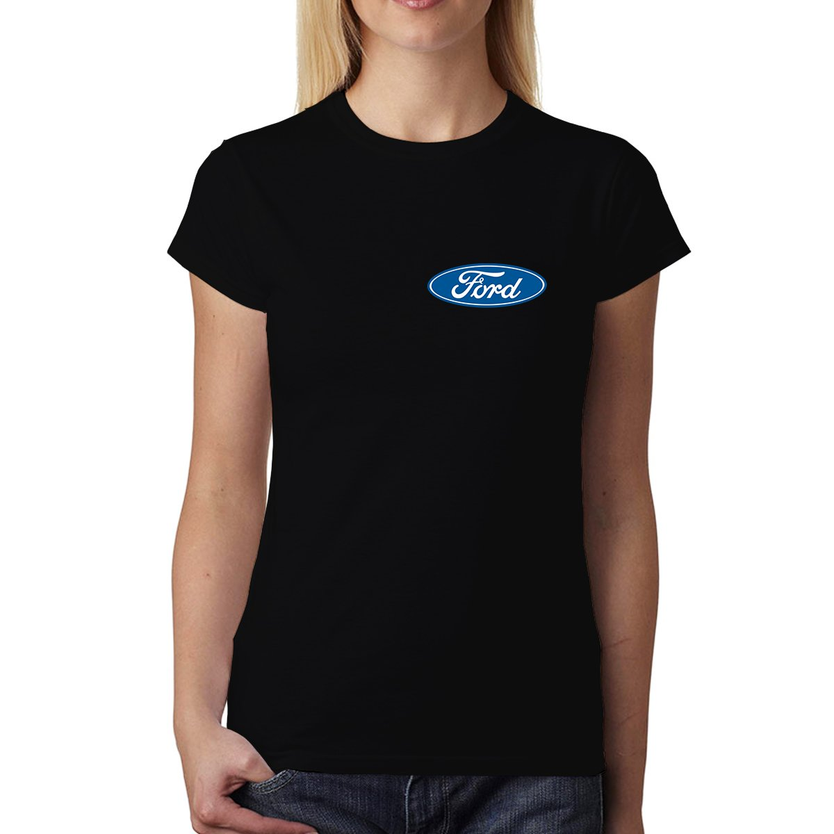 avocadoWEAR Classico Ford Logo Donna T-Shirt XS-3XL