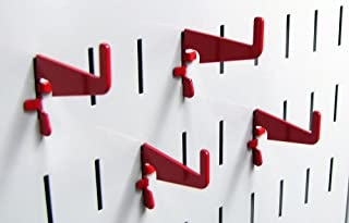 product image for Wall Control Pegboard Medium 1-7/8in Slotted Hook Pack - Slotted Metal Pegboard Hooks for Wall Control Pegboard and Slotted Tool Board – Red