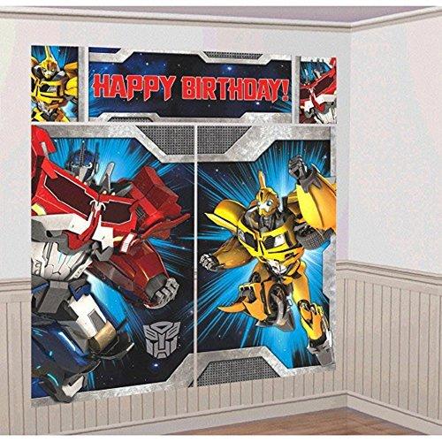 Transformers Scene Setter Plastic Poster