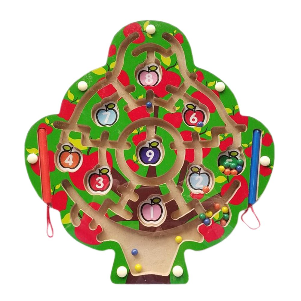 [Baum] Kinder-Holzspielzeug vorschulisch Matze Brettspiel Familienspiel