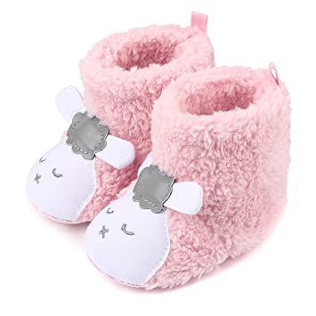 Hustar bebé recién nacido invierno cálido lindo oveja pre-walker ...