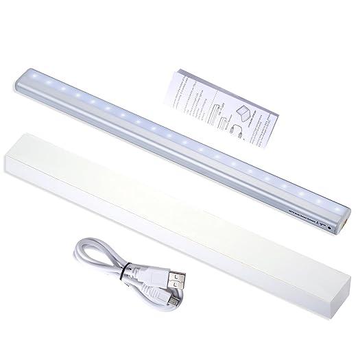30 opinioni per LED ricaricabile 20 USB di ricarica armadio luce del Governo di notte del LED