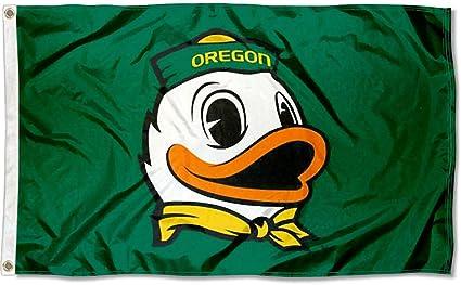 Oregon Ducks The Duck College Flag