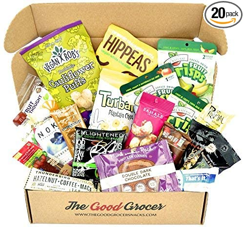 Vegan snacks care package