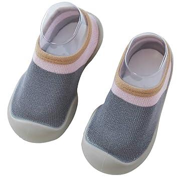 liquidación de venta caliente comprar online gran venta de liquidación Zapatillas de andar por casa para bebé con calcetines para ...