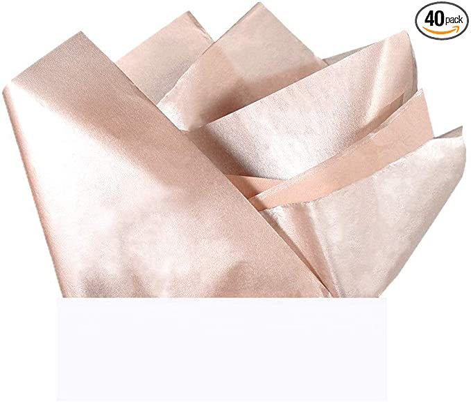 14x4.75x3.5,Recyclable,for Wedding,Birthday Party,etc. UNIQOOO 12Pcs Premium Rose Gold Metallic Foil Polka Dot Champagne /& Wine Bag Bulk