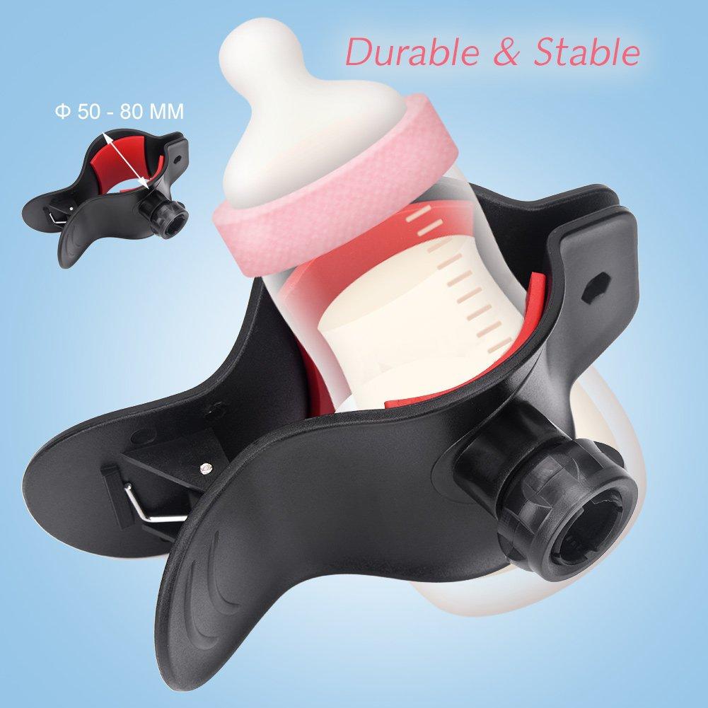 SolUptanisu Baby-Flaschenhalter H/ände frei Einstellbare Kinder Baby Wasser Milchflasche Flaschenhalter Clamp Bracket