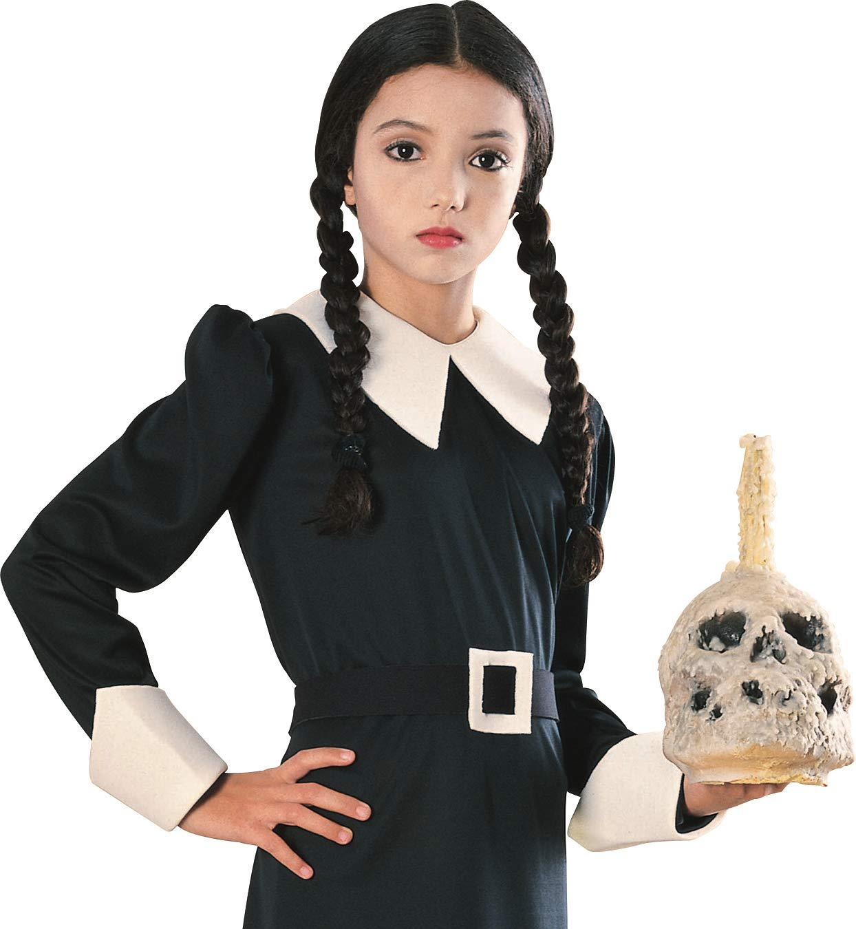 Addams Family Child's Wednesday Costume Wig by Rubie's Costume
