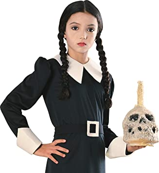 Addams Family Child S Wednesday Costume Wig