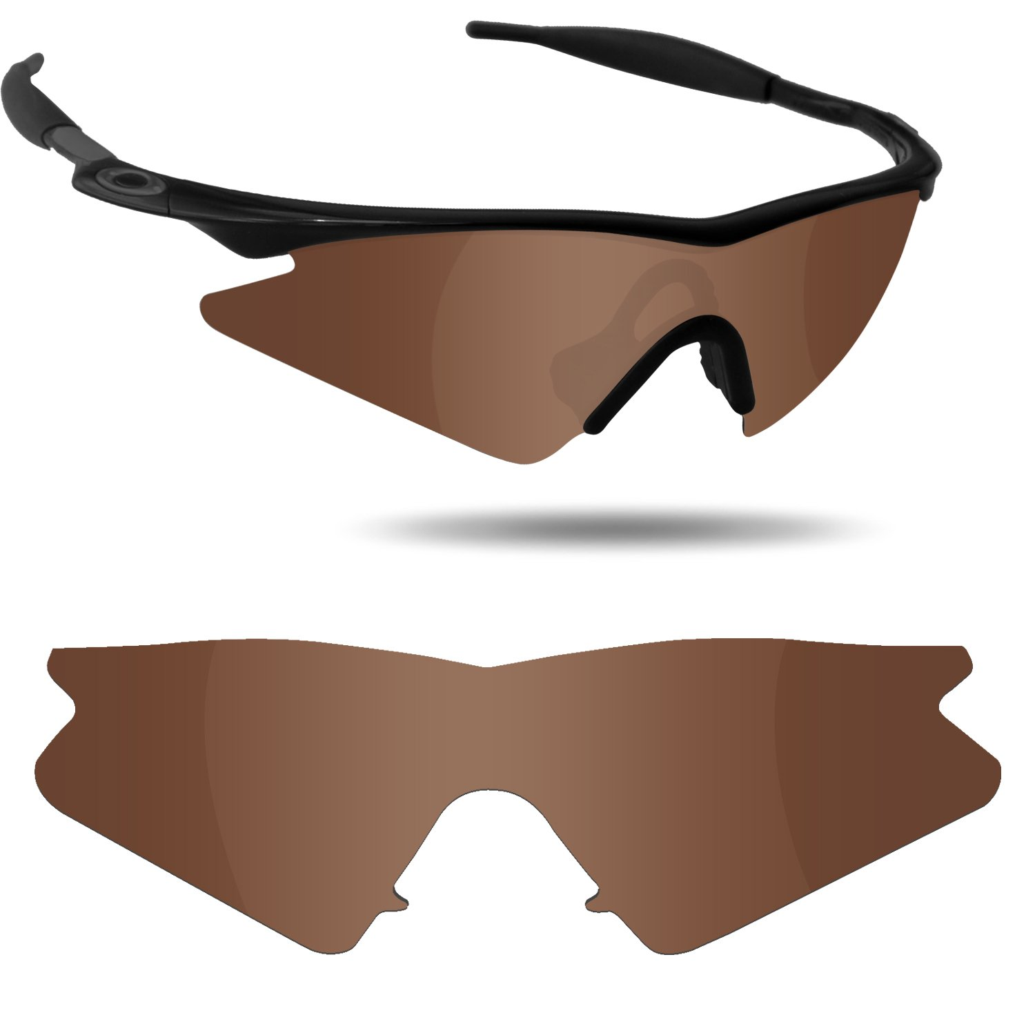 ab0b310bf6 Fiskr Anti-Saltwater Polarized Replacement Lenses for Oakley M Frame Sweep  Sunglasses - Various Colors