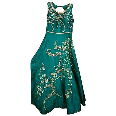 Amazon.com: Bollywood personalizada Christian vestido indio ...