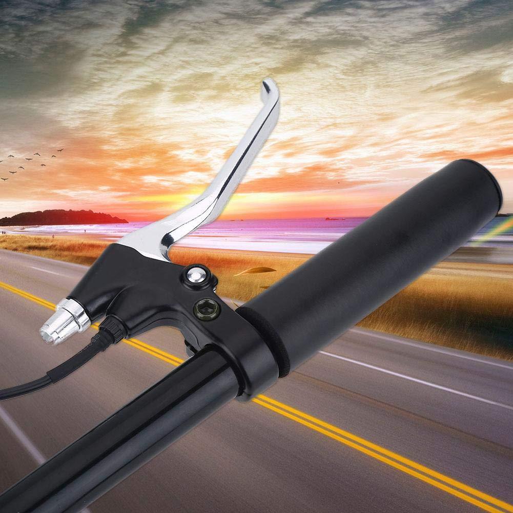 Dilwe E-Bike Brake Lever 1 Pair Aluminum Electric Bicycle Handlebar Brake Lever Brake Replacement Parts