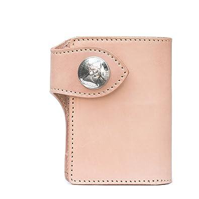 e74307dd9df3 Amazon | 二つ折り財布/メンズ財布/栃木レザー/牛革/レザーウォレット ...