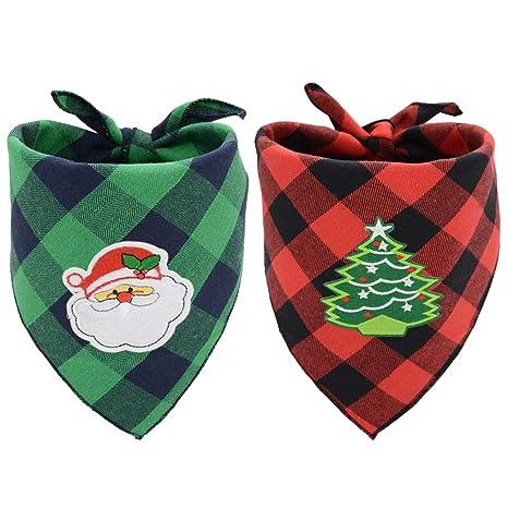 Busypaws - Pañuelo de Navidad para Perro, diseño clásico de ...