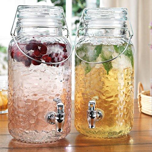 1 2 gallon glass jug with spigot - 2