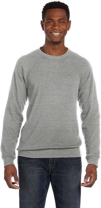 Black Triblend XX-Large Canvas Unisex Triblend Sponge Fleece Sweatshirt 3901