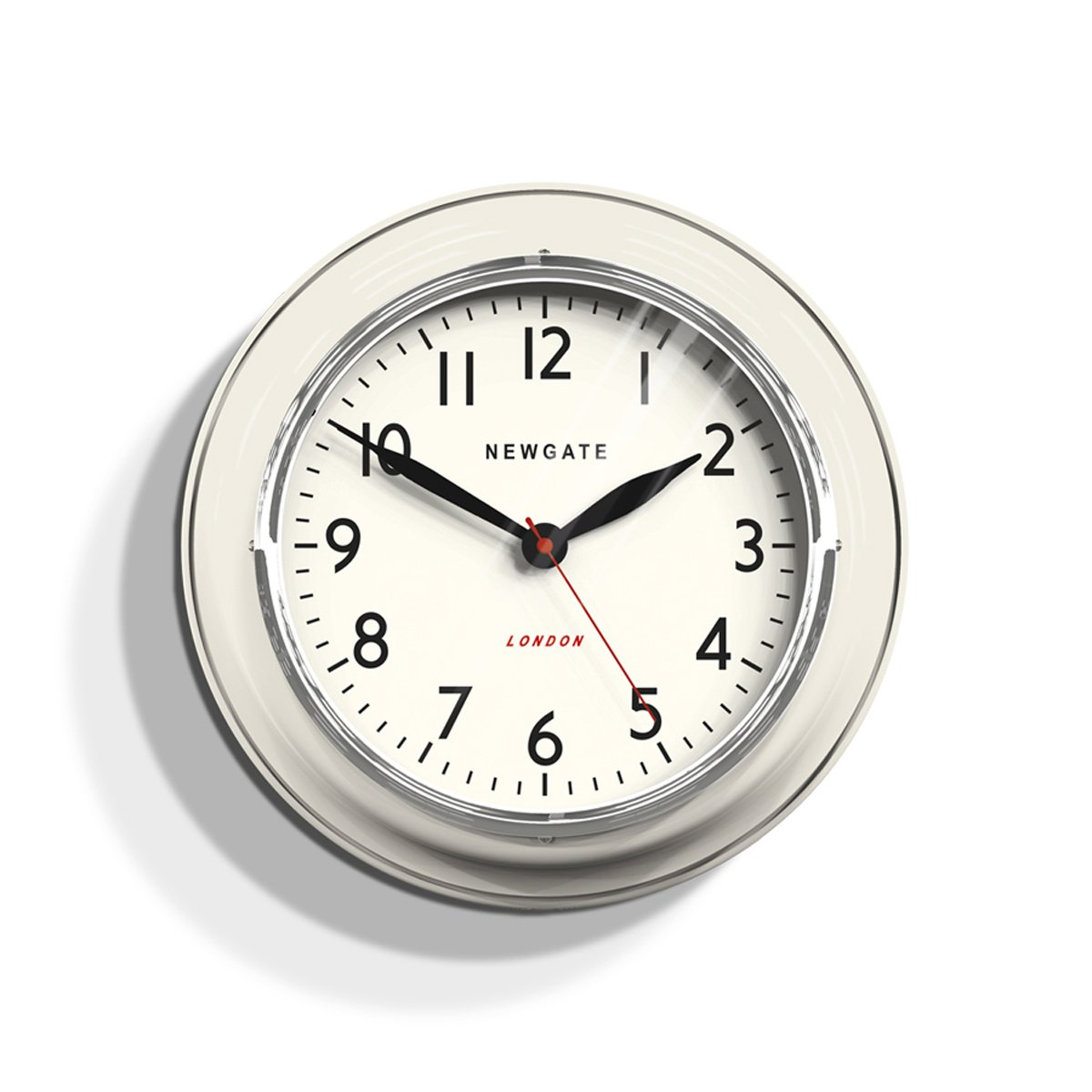 NEWGATE クックハウス クロック The Cook Houce Clock [ クリーム/Lサイズ ] 壁掛け時計 B01N64IHX8 クリーム クリーム
