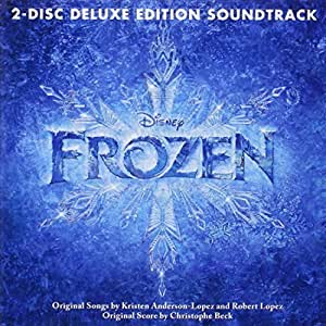Frozen 2 Disc Deluxe Edition Soundtrack by Walt Disney Records