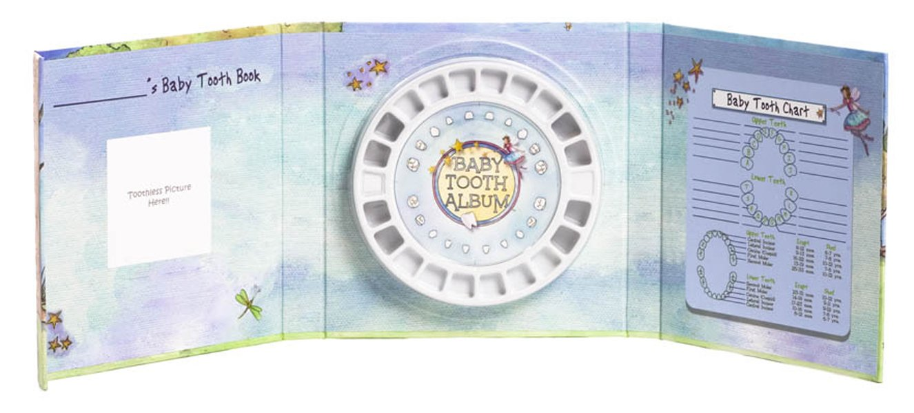 Amazon baby tooth album tooth fairy land collection girl amazon baby tooth album tooth fairy land collection girl baby keepsake products baby ccuart Image collections