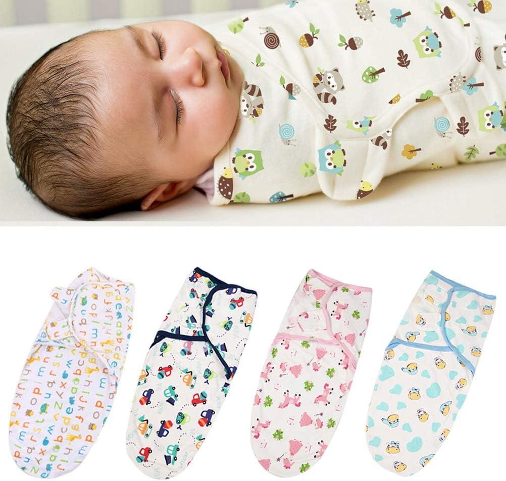 Baumwolle kuou Baby Pucksack weich f/ür Neugeborene dreieckig 4 St/ück