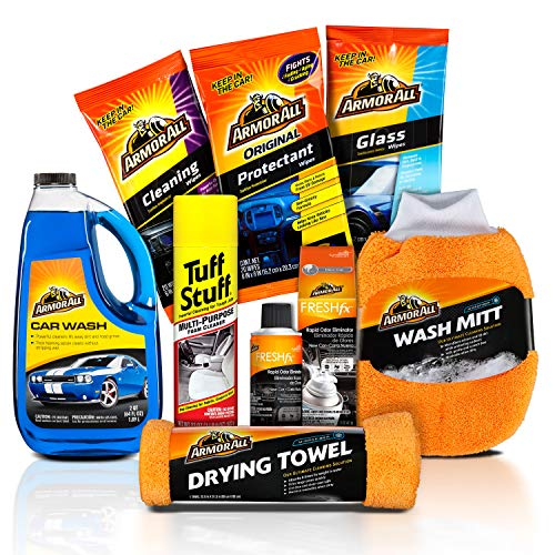 Armor All and Tuff Stuff New-to-You Used Car Cleaning Kit (8 - Car Stuff