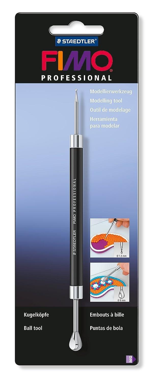 Fimo Modelling tool Ball tool, Black, 1.5 mm /8 mm x 20 cm Staedtler 8711 03 BKST