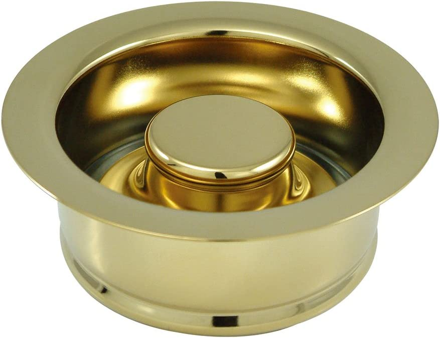 Kingston Brass BS3002 Made to Match Garbage Disposal Flange, 4-1/2-Inch, Polished Brass