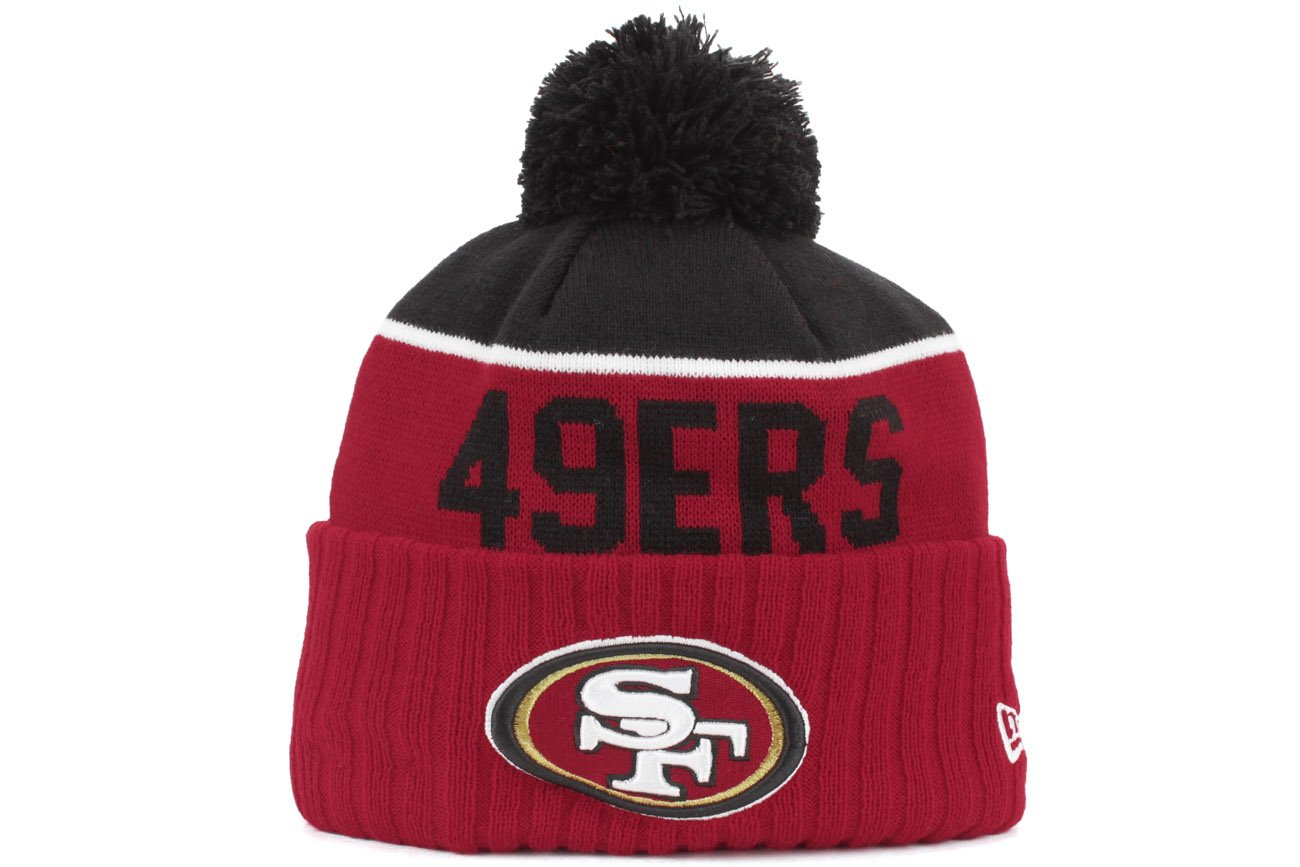 separation shoes d73f4 6b5a9 New Era Mens 2015 NFL Sideline On Field Sport Knit Hat