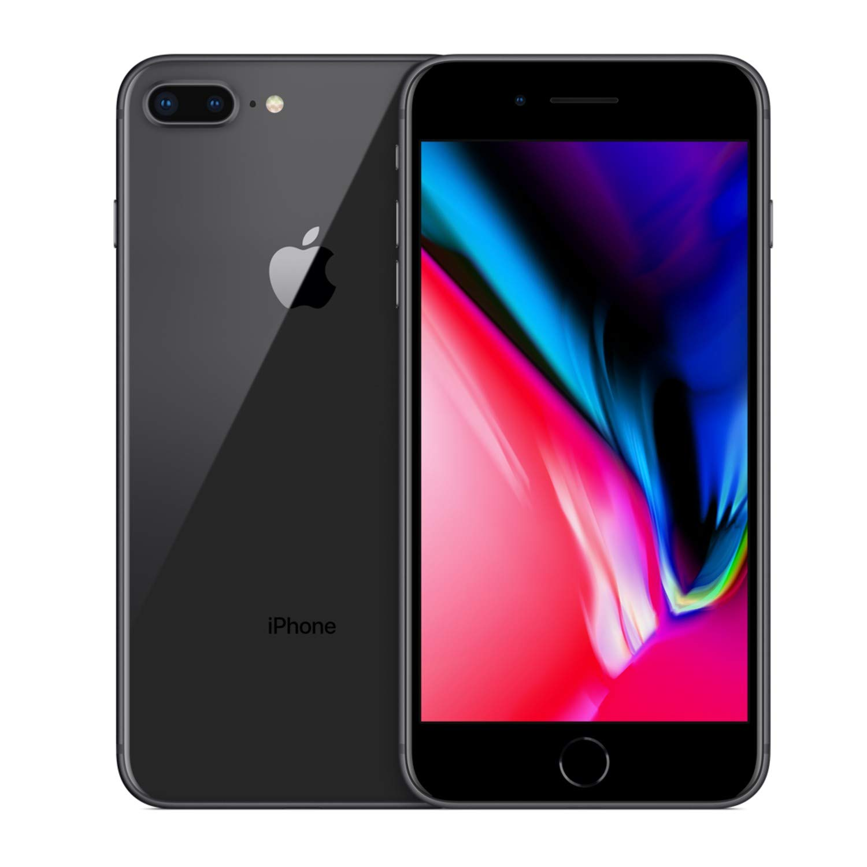Apple iPhone 8 Plus 64GB Unlocked GSM Phone - Space Gray (Renewed) by Apple