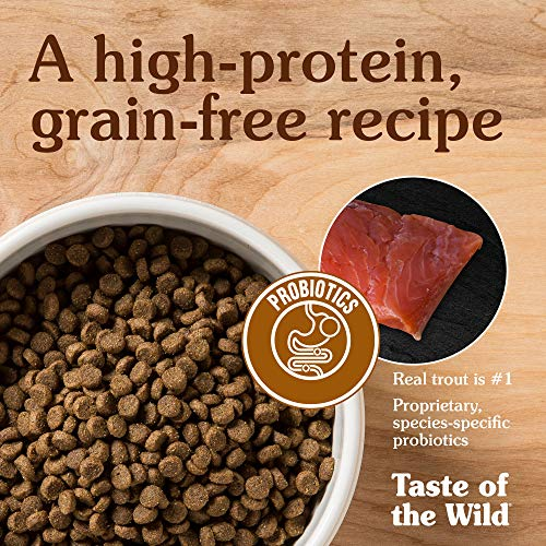 Large Product Image of Taste Of The Wild Canyon River Grain-Free Dry Cat Food With Trout & Smoked Salmon 15Lb