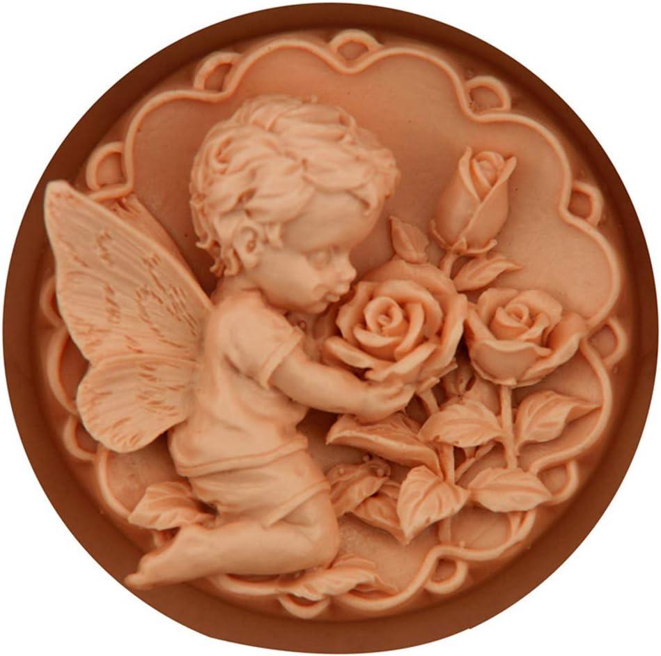 per Fai da Te Torte Stampo in Silicone 3D per Sapone Candele NINGYE cioccolatini